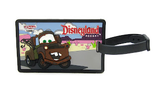 cars luggage tag
