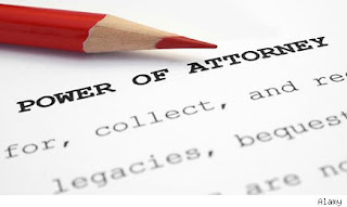 IRA power of attorney