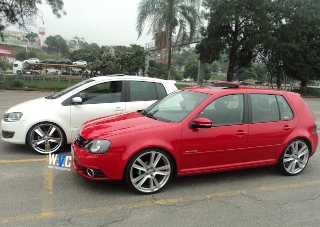 Carro do Internauta: Novo Fox + Novo Golf + Rodas aro 20""