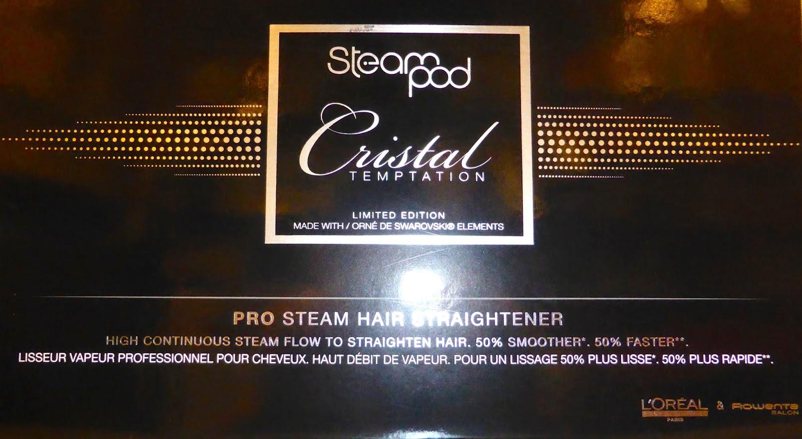Voici le coffret du Steampod SWAROVSKI en édition limitée,  disponible au Studio 54, salon de coiffure à Montpellier.