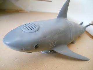 reproducción de tiburón a radio-control