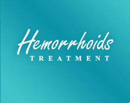 What is the treatment of hemorrhoids?