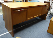 Danish Teak Credenza for files & storage