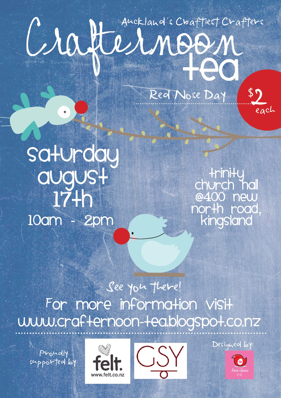 Crafternoon Tea: What a cute flyer we have