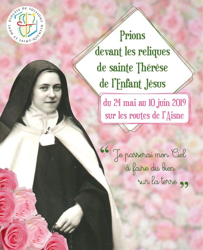 Chaque semaine ici une vidéo avec Sainte Thérèse de l'Enfant Jésus