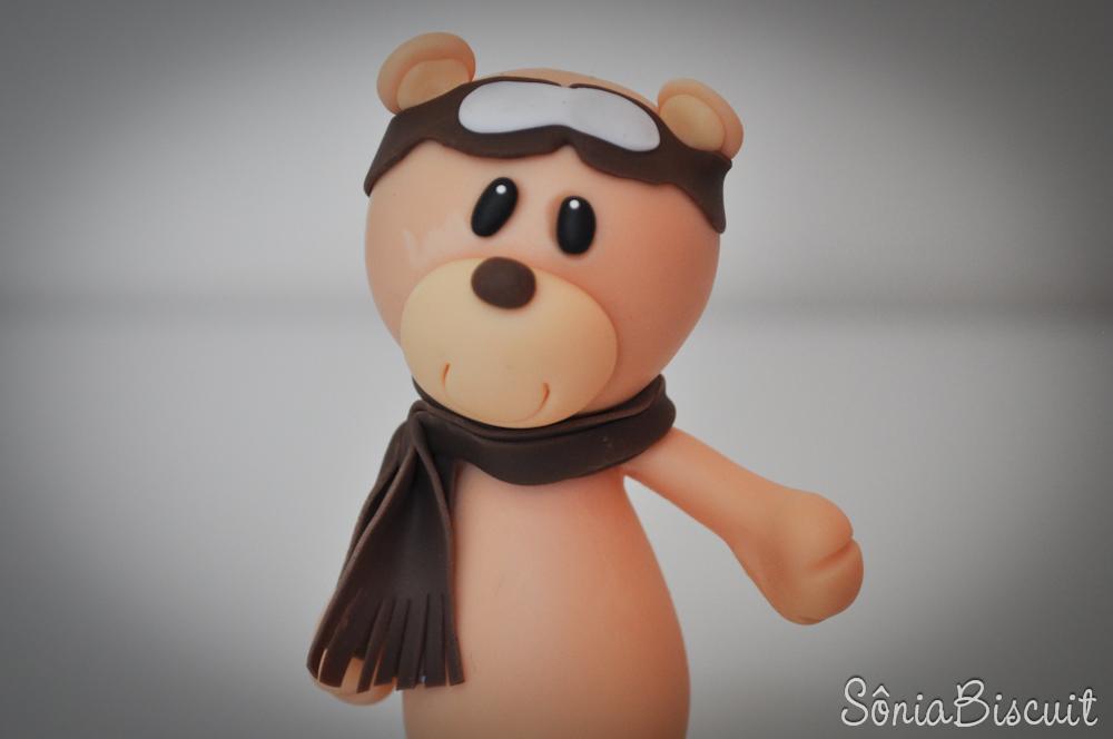 Ursinho Aviador Biscuit