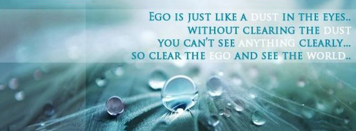 Clear The Ego And See The World