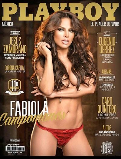 Fabiola Campomanes - Playboy México - Outubro 2013