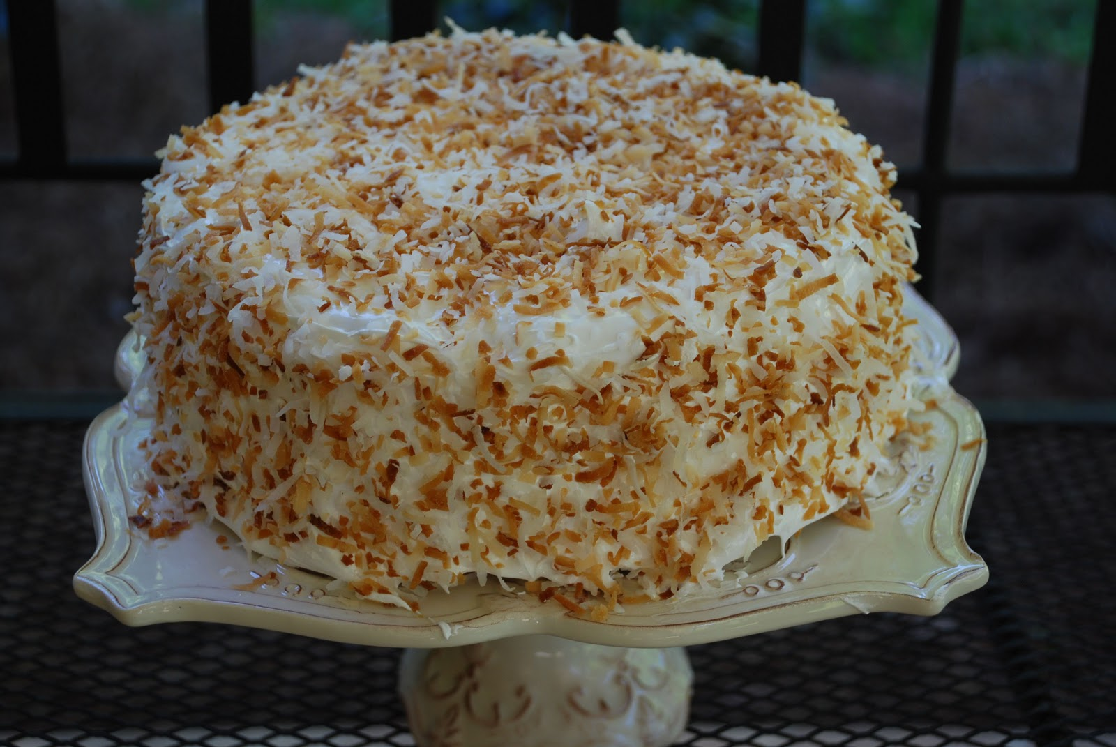 Tomatoes on the Vine: Thomas Keller's Coconut Cake