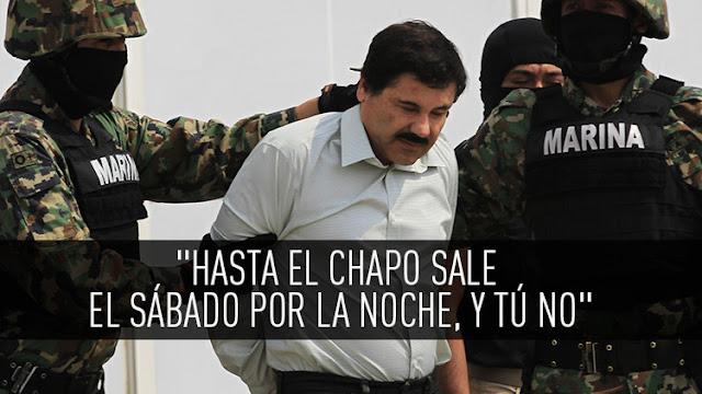 """""""Hasta el Chapo Guzmán sale el sábado por la noche"""", memes sobre fuga del capo"""