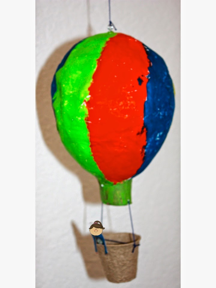 KLASSENKUNST: Heissluftballon