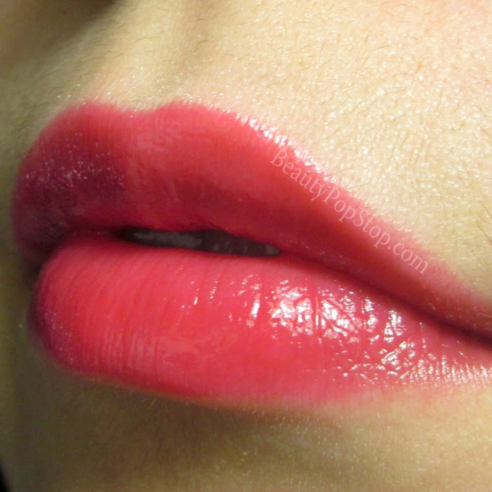 mac patentpolish lip pencil Hopelessly Devoted swatch and review