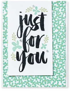 Just for you zena kennedy stampin up demonstrator