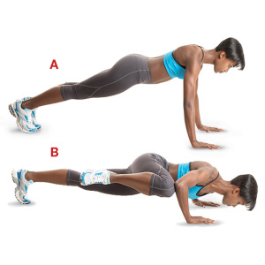 Flat stomach tip abs for Floor exercises for abs