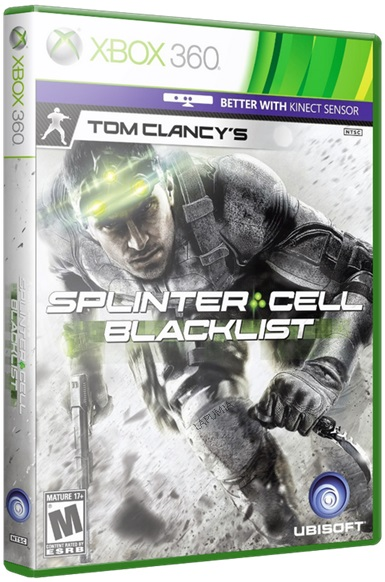 SPLINT2 Download   Jogo Splinter Cell Blacklist XBOX360 iMARS (2013)