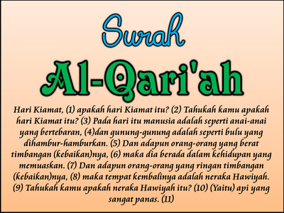 Al Islam 14 Surah Al Qariah