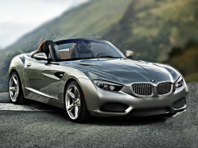 2017 BMW Z2 Rendered