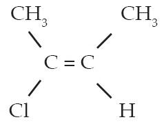 Trans–2-kloro–2-butena