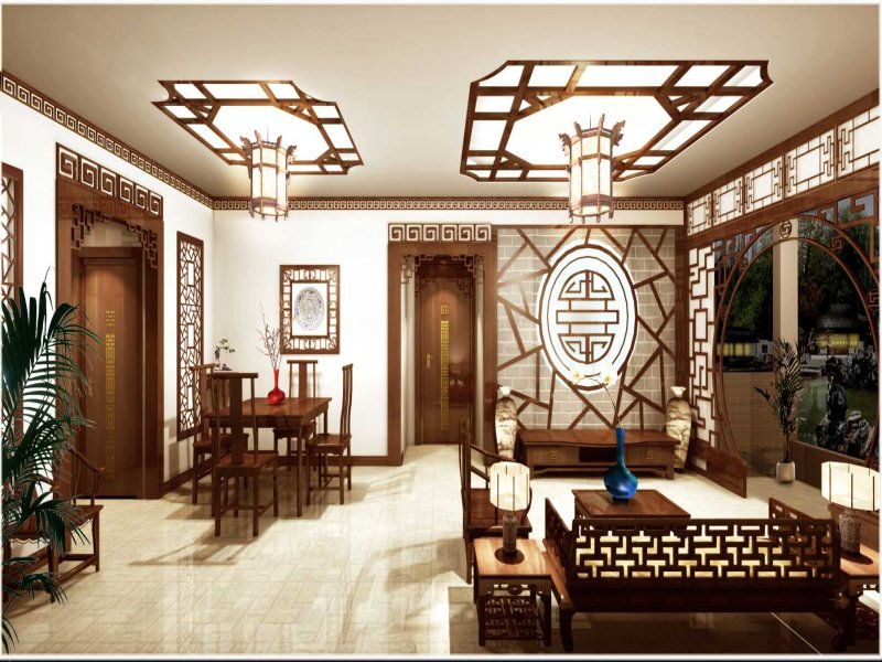 Decoridea oryantalist dokunu lar for Asian interior design living room