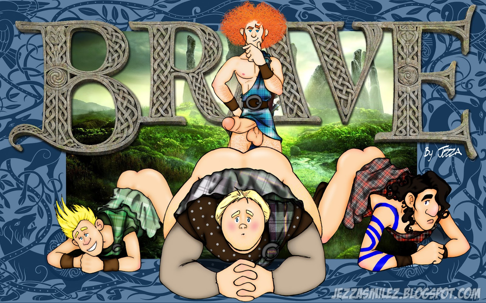 Porn pictures of brave the cartoon sexy scenes
