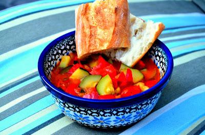 figsandrosemary recipe lecho leczo tomatoes peppers