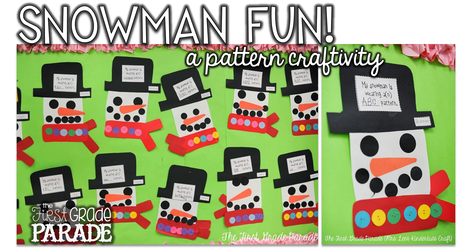 Snowman Fun, Freebies, and a Place Value Sneak Peek! - The First ...