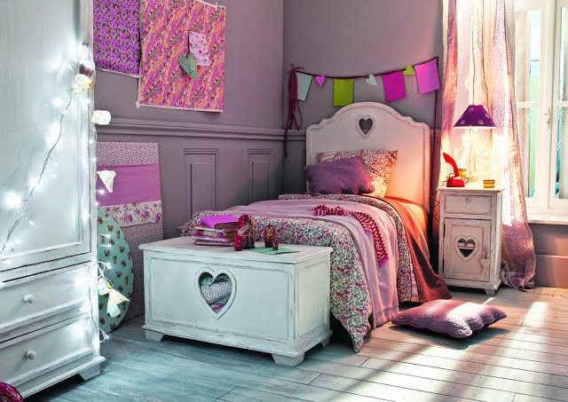 photo deco chambre fille 10 ans. Black Bedroom Furniture Sets. Home Design Ideas