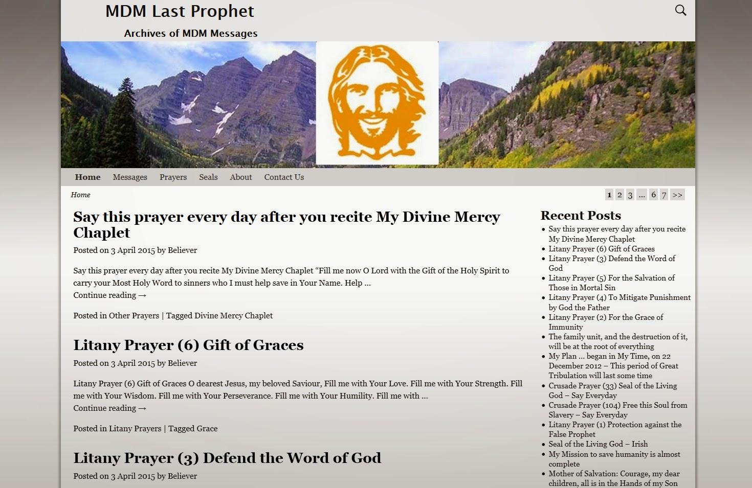 MDM Last Prophet