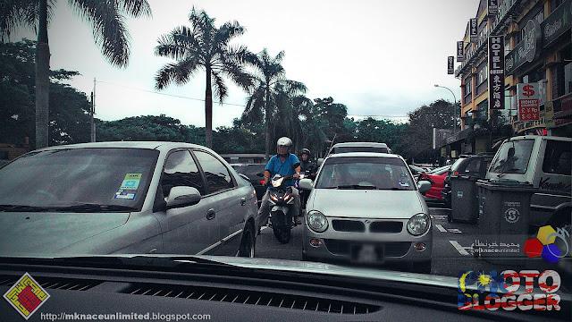 Kesukaran Parkir di Nusa Perintis