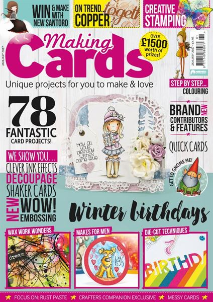 I Design for Making Cards Magazine