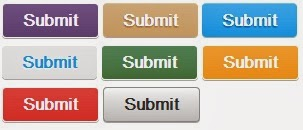 Simple css button style