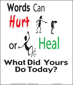 Tračevi, ogovaranja, priče u poverenju.. Words_can_hurt_or_heal_small