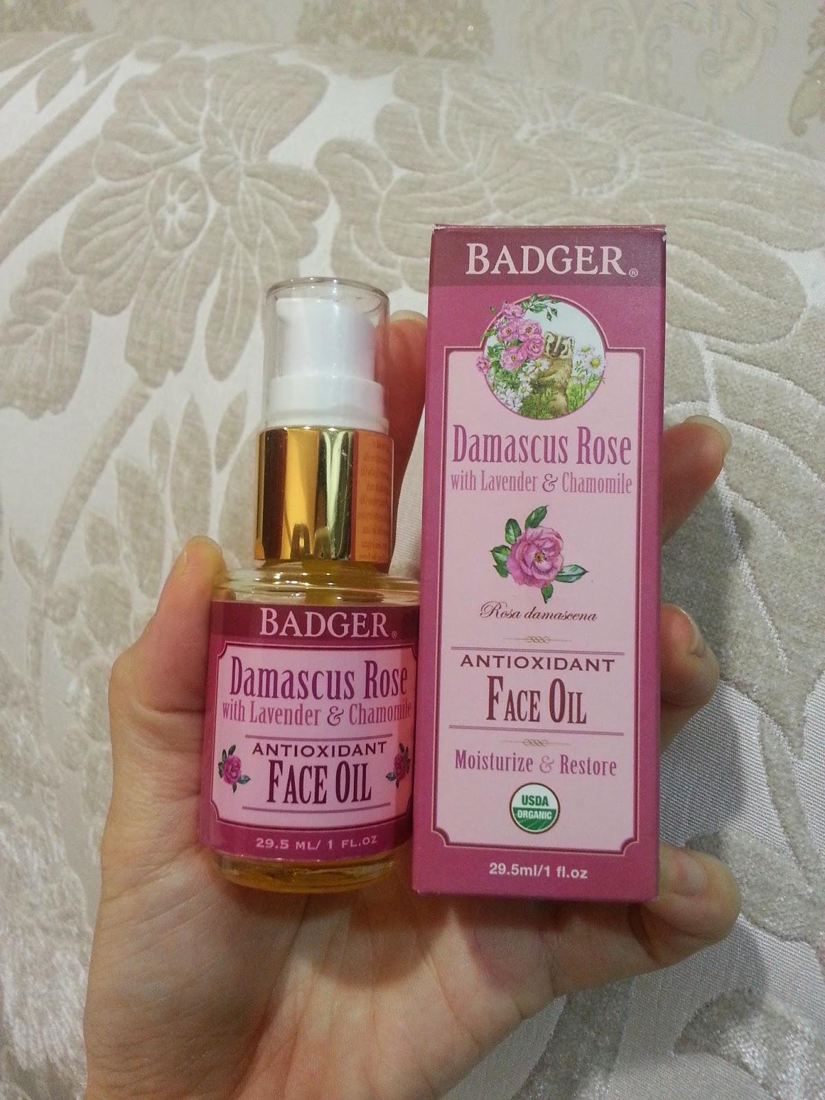 Badger damascus rose