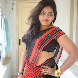 Sitara Hot Photos in Saree at Gundello Guchi Guchi Champake Movie Press Meet 26