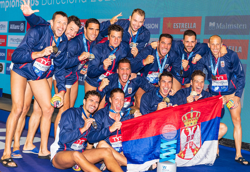 Serbia - European Champion Men, Barcelona 2018