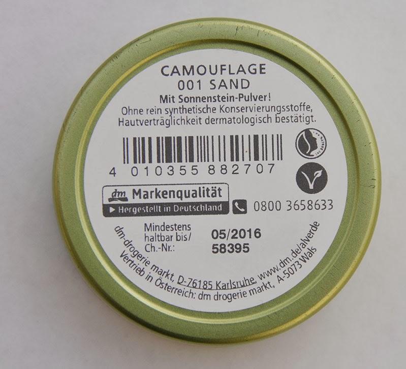 alverde camouflage
