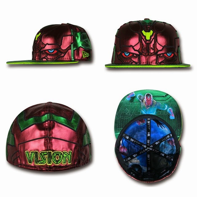 Marvel's Avengers Age of Ultron Armor 59Fifty Cap Collection by New Era - The Vision