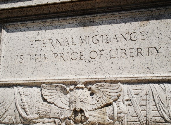 eternal vigilance is the price of liberty essay The jewish war on iran iran: another war for the jews, putin articles ecology ap biology essay hardy classname/audet/samuel retrouvez toutes les discothèque.