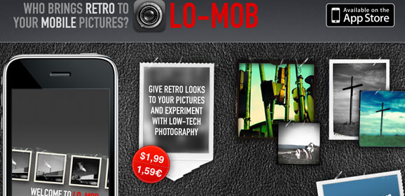 Lo Mob: iphone application website