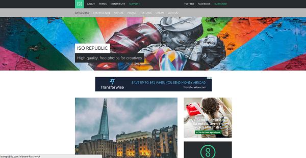 Situs Penyedia Gambar Gratis ISO Republic