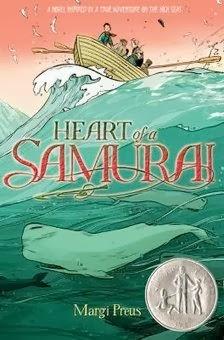bookcover of Newbery Honor Book - HEART OF A SAMURAI   by Margi Preus