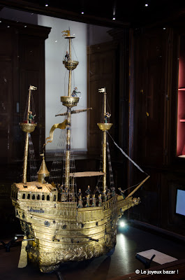 Château d'Ecouen - musée national de la Renaissance - nef de Charles Quint