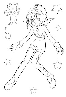 sakura coloring pages, free coloring pages