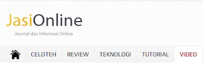 Kategori di Journal dan Informasi Online