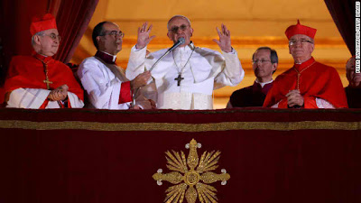Pope Francis I, new pope for 1.2 billion Catholics