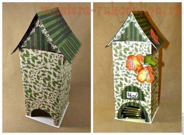 Teahouse of cardboard