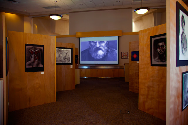 Jephyr's Transformation Animation Looks Over The 2013 Mesa Community College Student Art Show