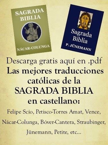 Descarga Biblias en .PDF