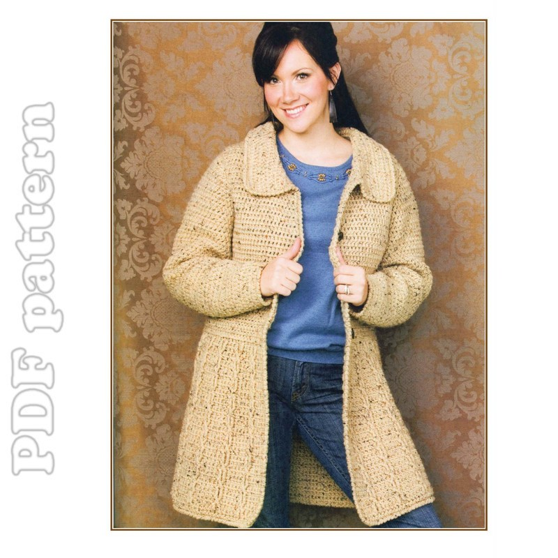 Crochet Patterns Jacket : CROCHETED ORNAMENT JACKET PATTERNS - Crochet and Knitting Patterns