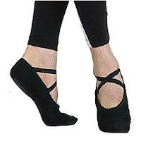 Gyakorló balettcipő